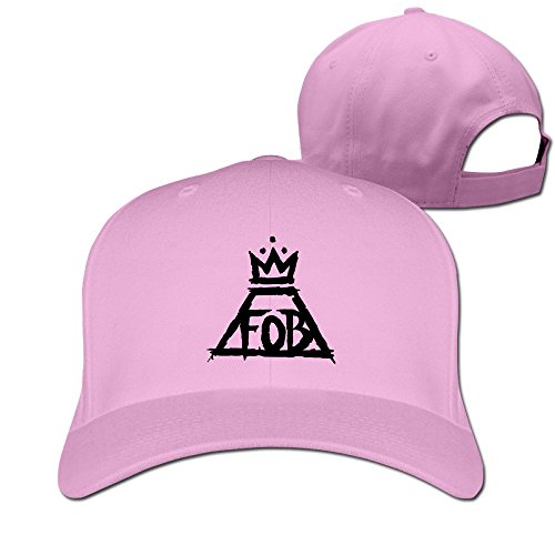 Used, Unisex Fall Out Boy Pink Hats Adjustable Snapback Peaked for sale  Delivered anywhere in Canada