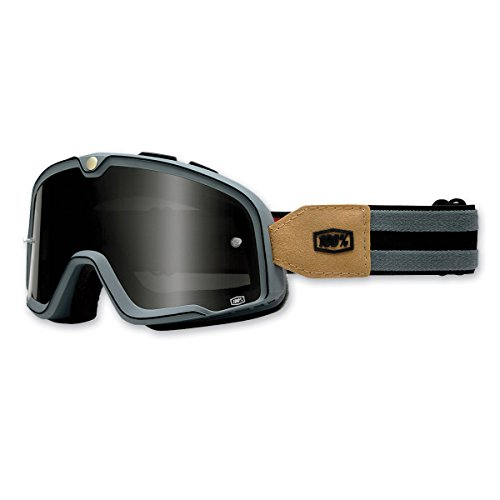 100% Unisex Adult Barstow Gray Legend Goggles - Outlet Barstow