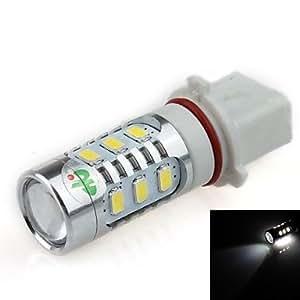 GD P13W 16W 12x 5630 SMD 2 x CREE XP-E LED 1500lm 6500K Luz Blanca LED Forcar Foglight / Faro (DC12 ~ 24V)