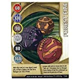 Bakugan Battle Brawlers Metal Gate Command Card - Forest Fire