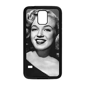 SamSung Galaxy S5 Black Marilyn Monroe phone cases&Holiday Gift