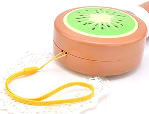 PrinceShop Push-pull type switch USB Summer office and outdoor portable mini mute fruit shape fan compact and cute and durable