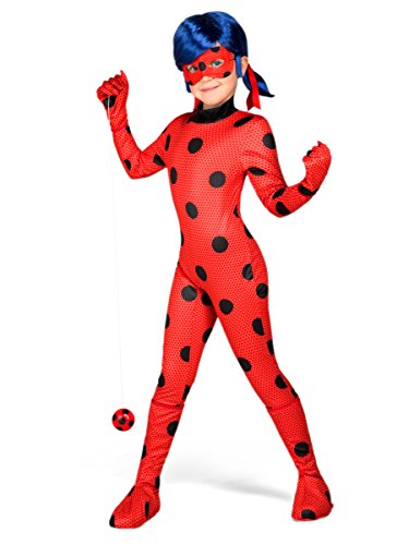 Yiija Fast Fun - Disfraz Ladybug (Viving Costumes): Amazon.es ...