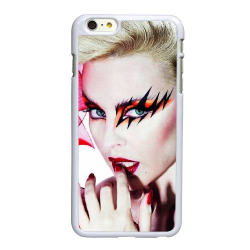 P1D95 Kylie Minogue Y9V0LM coque iPhone 6 4.7 pouces Cas de couverture de téléphone portable coque blanche IJ4HLX1KI