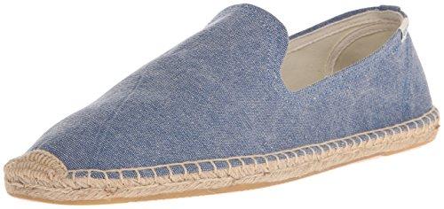 Soludos Herren Smoking Slipper Sandale Blau