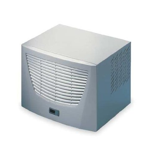 Rittal 3383510 Light Grey Top Therm Roof Mounted Air Conditioner with Comfort Controller, 23-1/2'' Width x 16-21/64'' Height x 18-11/16'' Depth, 3688 BTU, 115 V, 50/60 Hz by Rittal