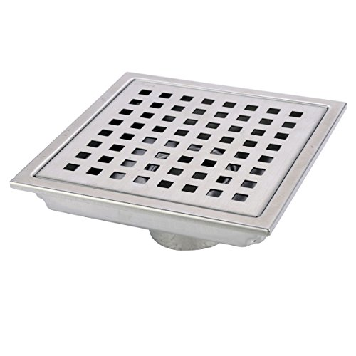 hanebath-6-inch-square-shower-floor-drain-with-removal-grate-made-of-sus304-stainless-steel