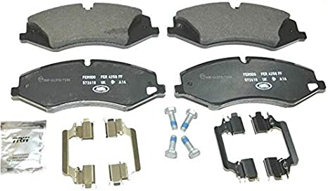 New Front Brake Pad Set for 10-12 Land Rover Range Rover LR015578