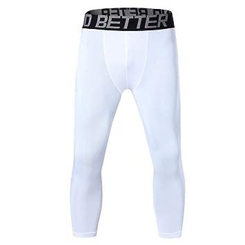 DHDHWL Leggings Hombre,Pantalones De Compresión De Baloncesto para ...