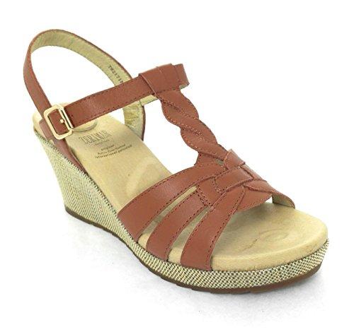 Sandals Zerimar Sandals Elegant Platform Sandales Plate Sandales forme Femmes Les Femmes Cuir En Women Women Pour Women De Sandales Tan Élégantes Bronzage Leather For Sandals Zerimar Femmes PPH5wqrAn