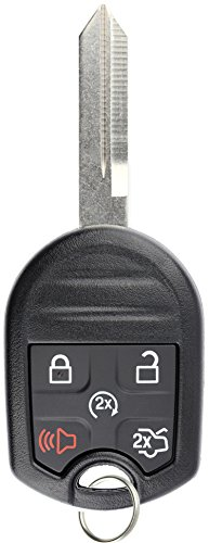 KeylessOption Keyless Entry Remote Control Fob Uncut Blank Ignition Car Key Remote Start for CWTWB1U793