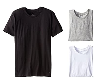 Calvin Klein Men's Crew Neck Tee 3-Pack-Assorted