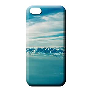 iphone 5c Highquality Protector Protective Beautiful Piece Of Nature Cases cell phone shells sky blue air white cloud
