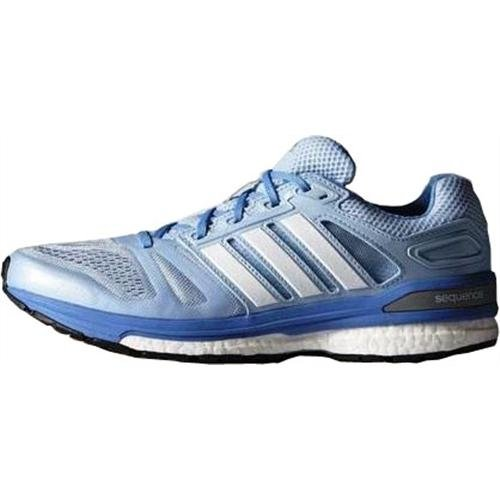 adidas Performance Supernova Sequence 7 Damen Laufschuhe Blau (Clear Sky/Ftwr White/Lucky Blue S15)