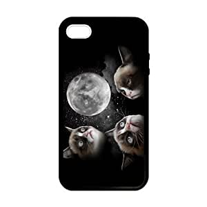 SUUER Custom Grumpy Cat Personalized Custom Hard Case for iPhone 4 4s Durable Case Cover