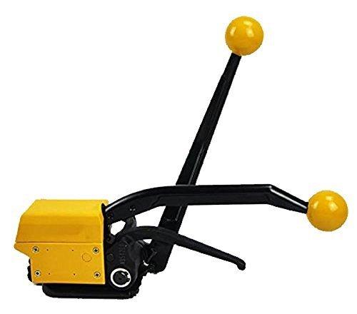 (Eleoption® Manual Seamless Combination Tool Steel Straps Banding A333 Steel Strapping Combination Tool Machine For 1/2