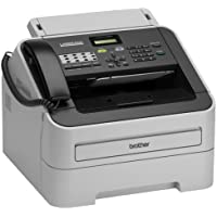 Brother - FAX-2940 Black-and-White All-In-One Printer - Gray