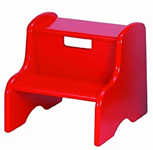 Amazon Com Little Colorado Red Step Stool Red Toys Amp Games