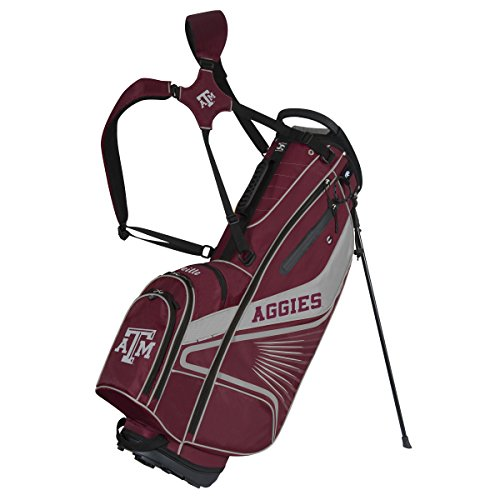 Team Effort Texas A&M Aggies Gridiron III Stand Bag