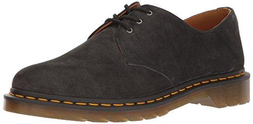 Dr. Martens 1461 Soft Buck, Zapatos de Vestir Unisex Adulto Gris (Graphite)