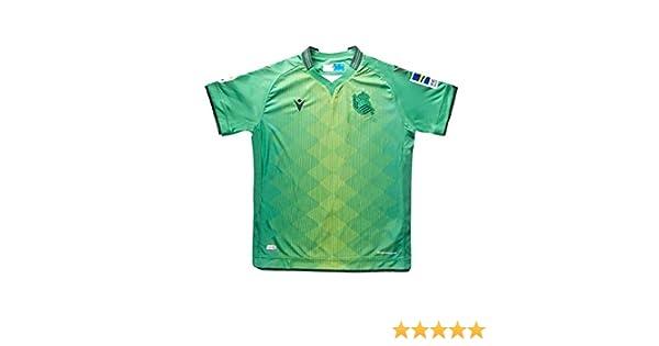 Macron Real Sociedad Segunda Equipación 2019-2020 Niño, Camiseta ...