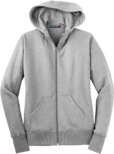 Sport-Tek - Ladies Full-Zip Hooded Sweatshirt. L265 - Athletic Heather - 3XL