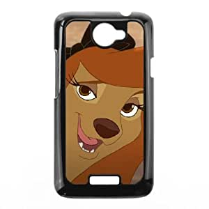 HTC One X Cell Phone Case Black Disney The Fox and the Hound 2 Character Cash