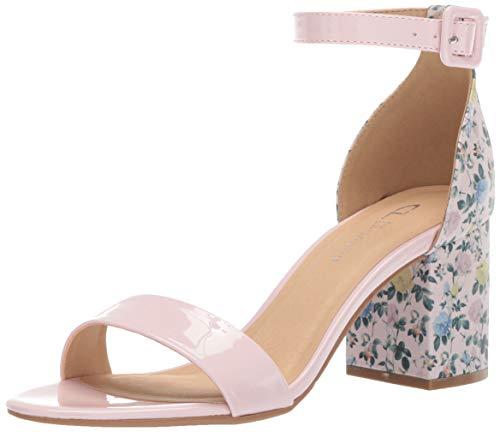 (CL by Chinese Laundry Women's Jody Heeled Sandal Light Pink/Patent 6.5 M)