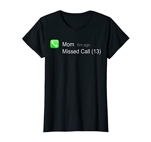 Womens Mom Missed Call Scary Last minute Halloween