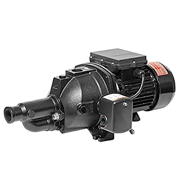 Superior Pump 94115 1 Hp Convertible Jet Pump with Eject Kit, 115/230 Volt