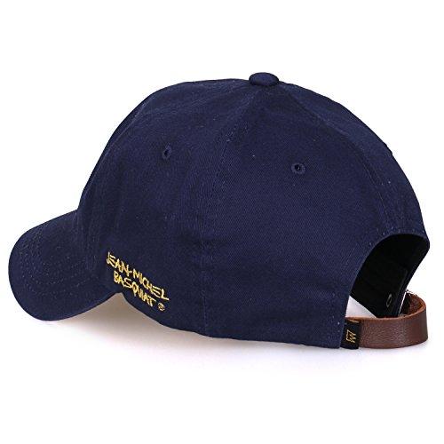 b02f6f12 Jean-Michel Basquiat Cotton Cute Crown Embroidery Curved Hat Baseball Cap  (ballcap-1345