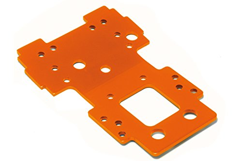 - Bulkhead Lower Plate 2.5mm (Orange) Savage X/XL 105892