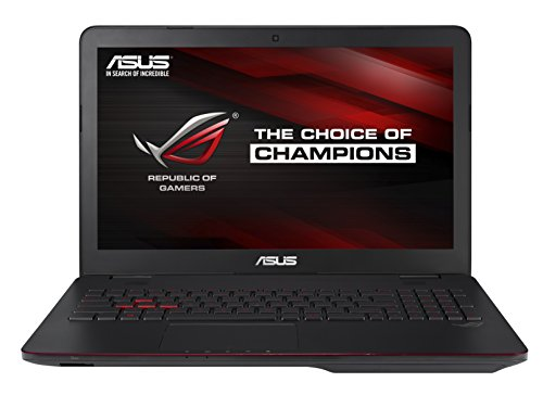 Asus ROG G551JW-DM379T PC Portable Gamer 156 Noir mtal (Intel Core i7 8 Go de RAM Disque dur 1 To  SSD 24 Go Nvidia GeForce GTX960M Windows 10)