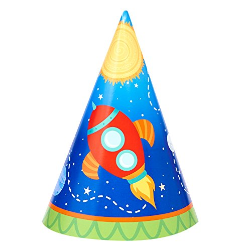 Rocket to Space Birthday Party Supplies 16 Pack