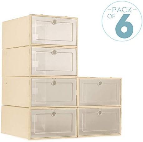 ZODDLE Foldable Shoe Storage Boxes 6 product image