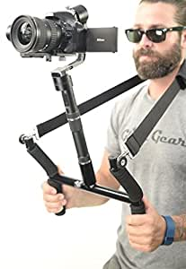 Glide Gear Geranos 3 Axis Gyro Motorized DSLR & Mirrorless Camera Stabilizer USA Company/Support