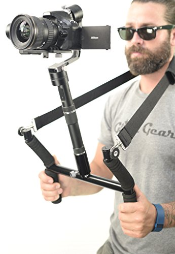 Glide Gear Geranos VII 3 Axis Gyro Motorized DSLR & Mirrorless Camera Stabilizer USA...