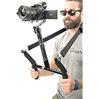 Glide Gear Geranos VII 3 Axis Gyro Motorized DSLR & Mirrorless Camera Stabilizer USA Company/Support