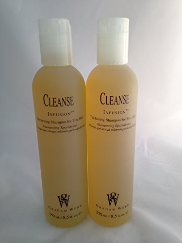 (Graham Webb Cleanse Infusion Thickening Shampoo 8.5 oz ~ 2 PACK )