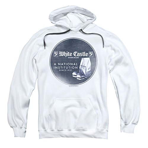 UPC 887806862199, White Castle Fast Food Burger Company Retro Institution Ad Adult PullOver Hoodie