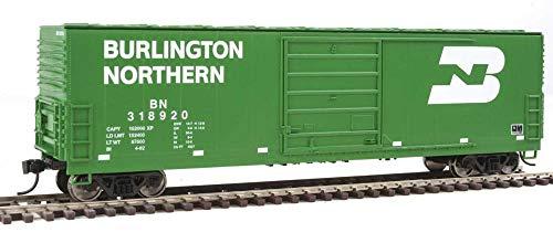 50' Evans Smooth-Side Boxcar - Ready to Run -- Burlington Northern #318920