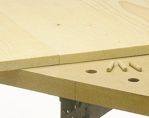 Wolfcraft 4645000 – Set universal de espigado de madera, multicolor