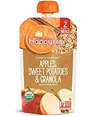 Happy Family Organics Clearly Crafted Stage 2 Baby Food Pouch