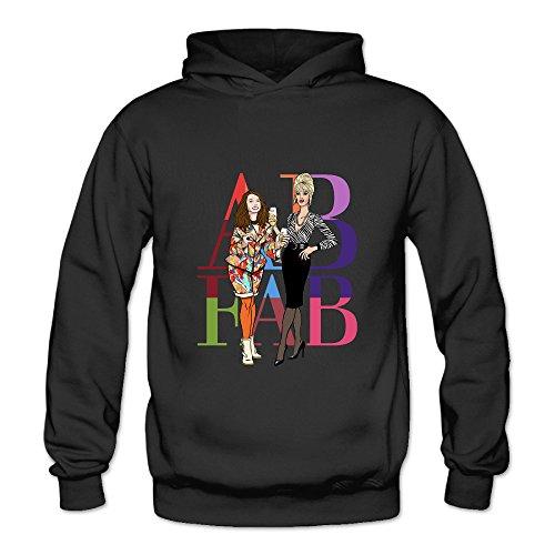 Absolutely Fabulous Costumes (BOOMY AB Absolutely Fabulous Women's Hooded Sweatshirt SizeL)