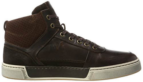 Pantofola d'Oro Frederico Mid, Sneaker a Collo Alto Uomo Marrone (Coffee Bean .Iku)