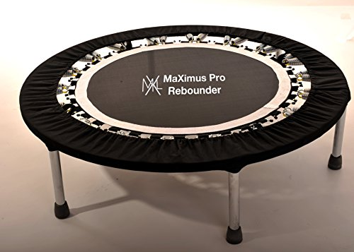 MaXimus Life Pro Gym Rebounder Package Includes Compilation DVD and Handle Bar by MaXimus Life ltd