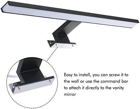 Lilideni Luz de Espejo LED Luz de gabinete de ba/ño Luz de Espejo de Maquillaje Luz de vanidad L/ámparas de Pared IP44 Blanco Neutro