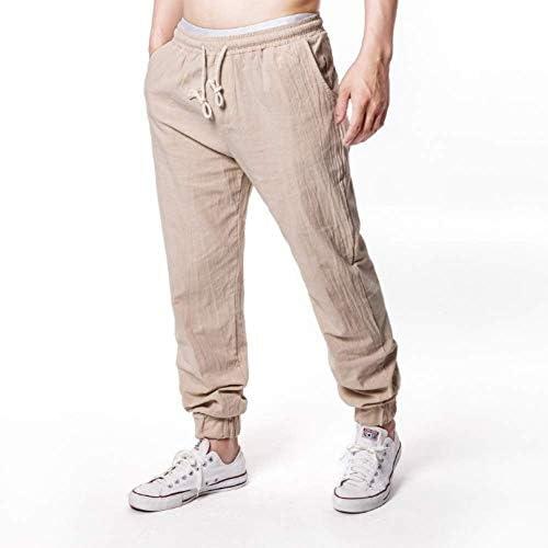 MOM el Verano Hombres Pantalones Casual Suelto Pantalones Sección ...