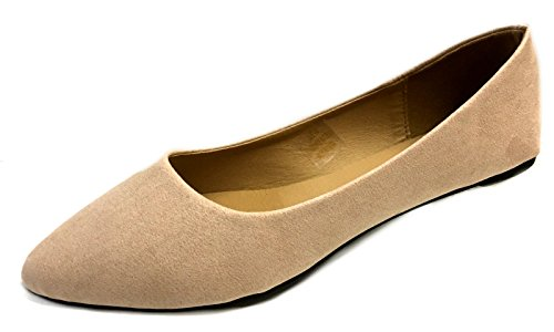 3 8800 Loafer Nude Micro Suede Shoes Womens Flats Shoes8teen Colors Faux Smoking wx01CTzq