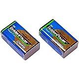 【2個セット】9Vアルカリ乾電池【006P/6F22】9ボルト角型アルカリ電池/ラジオ/防災/バッテリー【水銀0使用】